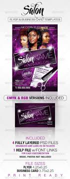 salon flyer and business card templates massage business card salon flyer and business card templates