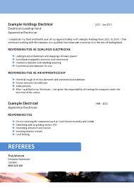 Offshore Mining Resume Template 094