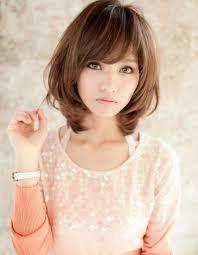 ひし形シルエットのミディアムta44 ヘアカタログ髪型ヘア