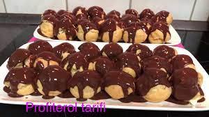 Kolay profiterol tarifi / Çikolatalı profiterol tarifi/Profiterol pasta  tarifleri/ Profiterol yapımı - YouTube