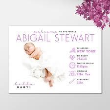 Printed Birth Announcement Funny Boy Or Girl Birth Announcement Custom Digital Baby Photo