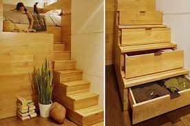furniture with storage space. Stairs-with-storage-beneach Furniture With Storage Space