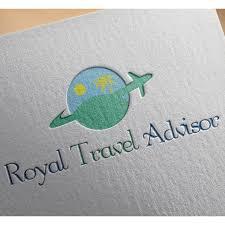 Gm Travel Design Bold Serious Travel Logo Design For Royal Travel Advisor