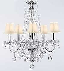 harrison lane j2 1139 5 light 22 1 2 wide crystal chandelier