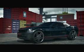 Death race car Chevrolet Camaro 2010 3D model | CGTrader