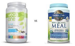 an epic showdown vega one vs garden of life