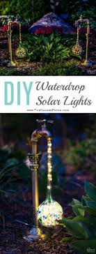 Homemade Solar Lights Best 25 Solar Lights Ideas On Pinterest Outdoor Deck Decorating