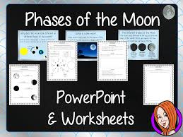 Phases of the Moon - PowerPoint and Worksheets STEAM Lesson by ...