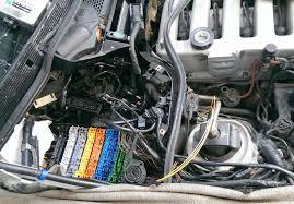 mercedes v12 wire harness repair