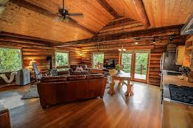 rustic style log cabin