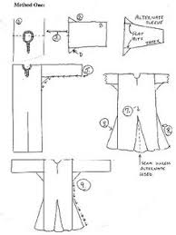 Medieval Tunic Pattern Custom Spanish Saya Gown Pinterest Medieval Clothing