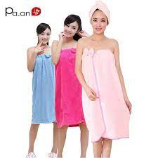 Fashion Women Bath Towel Bowknot Wearable Towels Super Absorbent Solid  Color Bath Sleep Wear 120x80cm Free Shipping Review   Fashion, Towel dress,  Womens fashion