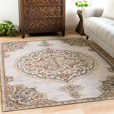 vintage medallion light grey area rug x gray and ivory beige rugs traditional ed martins hand gray and ivory area rug