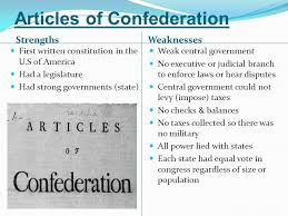 strengths and weaknesses of the article of confederation essay strengths and weaknesses of the article of confederation essay