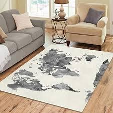 7 x 10 area rugs under 100 elegant interestprint grey world map area rug floor mat 7 x 5 wamconvention