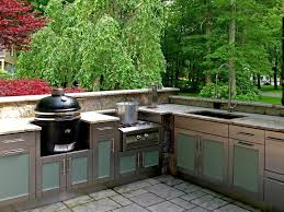 Cleveland Kitchen Cabinets Stylish Outdoor Kitchen Cabinet Throughout Outdoor Kitchens