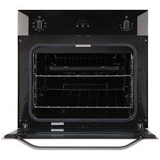 belling bi60mf built in multi function single oven s steel look built in ovens cookers