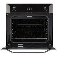 belling bi60mf built in multi function single oven s steel look built in ovens cookers