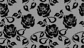 美しい花柄のレースフレーム Beautiful Lace Flowers Vector イラスト