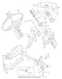 ford 8n 9n 2n assemblies ford 9n 2n steering gear related · ford 8n steering gear 1948 1949 related