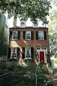 front door colors for white house black shutters red door black shutters white trim red brick