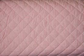 10 Yards - Pink Gingham 100% Cotton PRE-QUILTED Fabric   eBay & Image is loading 10-Yards-Pink-Gingham-100-Cotton-PRE-QUILTED- Adamdwight.com