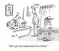 bookworm cartoon 8 of 179