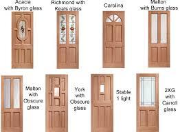 external door collections natural wood