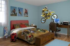 Boys Motocross Bedroom Ideas