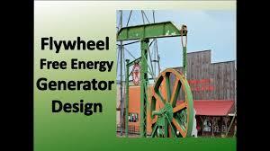 Flywheel Free Energy Generator Design New Design Framework