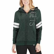 Majestic Hoodie Size Chart Majestic New York Jets Womens Heathered Green Athletic