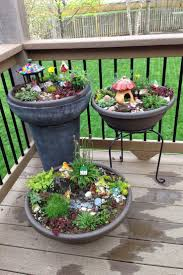 Fairy Gardens for the kids, gnome garden. My new deck will one day be