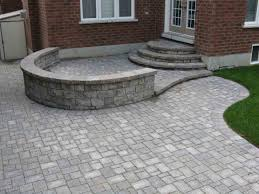 backyard raised patio ideas. Awesome Stone Interlock Patio Ideas Backyard Raised Natural Landscaping Garden Brick Paver Designs With Ideas. I