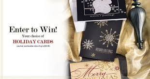 Free Holiday Photo Greeting Cards Enter To Win Free Holiday Greeting Cards From Paperdirect