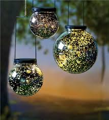 mercury glass decorative delectable mercury glass solar set of 3 holiday lighting decorating design