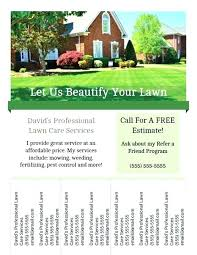 Lawn Care Flyer Template Word Lawn Care Flyer Template Free Lawn Care Flyer Templates Word View