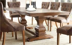 rustic wood round dining table fresh 43 modern rustic wood dining room tables model best table