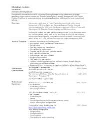 Awesome Chef Skills Resume Sample Photos Example Resume And