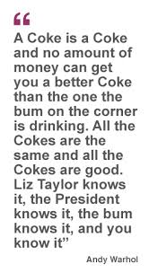 Coca Cola Quotes Famous quotes about 'CocaCola' Sualci Quotes 78