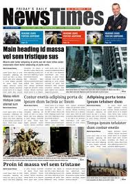 Newspaper Template Indesign Download 35 Best Newspaper Templates In Indesign And Psd Formats