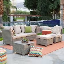 outdoor patio sectional furniture sets