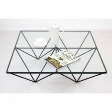 Metal square coffee table 3