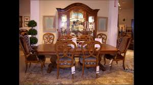 Thomasville Dining Room Chairs Video Thomasville Cherry Dining Room Set Queen Anne Table Youtube
