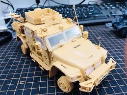 Meng Model 1/35 VS-009 British Army Husky TSV FULL TEST KIT ...