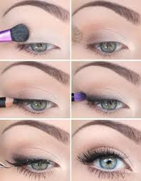 cute eye make up for green eyes