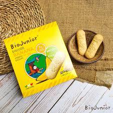 Organic) Bánh ăn dặm hữu cơ cho bé từ 7-10 tháng tuổi Bio Junior Organic  Biscotti Ý giá cạnh tranh