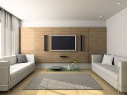 tv on wall in living room. light modern living room with flat screen tv and wood floors tv on wall in