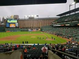 Oriole Park At Camden Yards Section 47 Home Of Baltimore