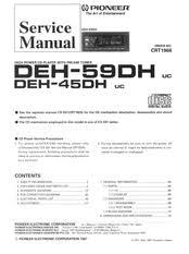 pioneer deh 45dh manuals Pioneer Deh 4500bt Wiring Diagram Pioneer Deh 4500bt Wiring Diagram #34 Pioneer Deh 16 Wiring-Diagram