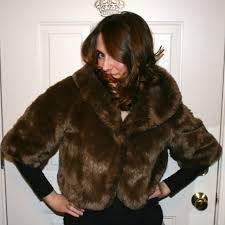 faux fur bolero refashion part one